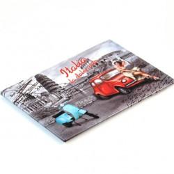 Aluminium Magnet La Dolce Vita 8x5.5 cm