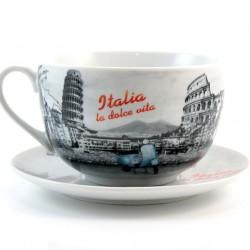 Ceramic Cup 8x15.5 cm La Dolce Vita
