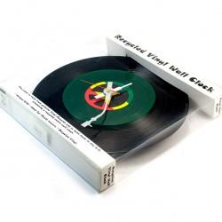 Clock Peace and Love Vinyl diameter 30 cm