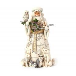 Babbo Natale con animali del bosco 26 cm Jim Shore 4040900