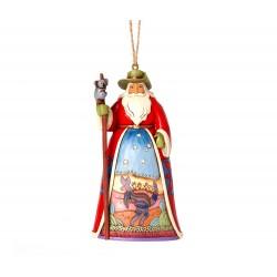 Babbo Natale Australiano 12 cm Jim Shore 4041113