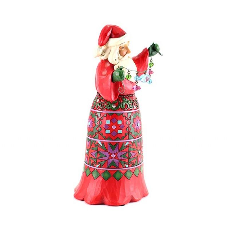 Babbo Natale Musicale.Babbo Natale Musicale 28 Cm Jim Shore 4059002