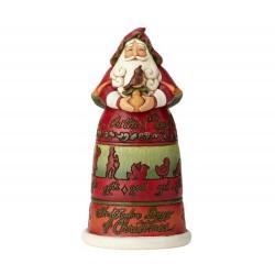 Babbo Natale 12 giorni 25,9 cm Jim Shore 6001462