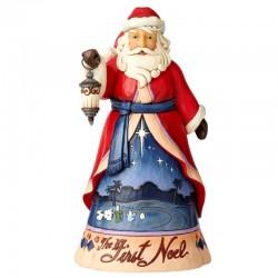 Babbo Natale con lanterna 25 cm Jim Shore 6004130