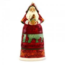Babbo Natale 12 giorni da appendere 12 cm Jim Shore 6004300