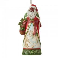 Babbo Natale Africano 12 cm Jim Shore 6007315