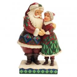 Santa Claus and Mrs Claus 21 cm Jim Shore 6001465