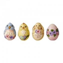 Easter basket 20 cm Jim Shore 6006990