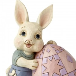 Bunny with egg 15 cm Jim Shore 6008407