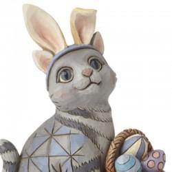 Cat with basket of eggs 10,6 cm Jim Shore 6008412