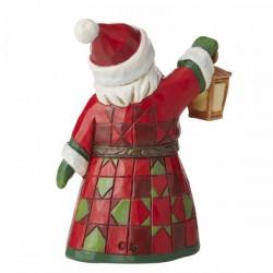 Santa Claus with lantern 8,5 cm Jim Shore 6006661