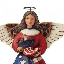 Patriotic angel with flag 15 cm Jim Shore 4044664