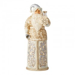 Shiny Santa Claus with bell 27 cm Jim Shore 6006614