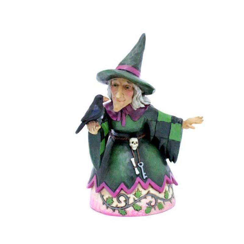 Data Di Halloween.Halloween Witch 14 Cm Jim Shore 4027795