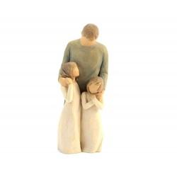 Statuetta Le mie Ragazze 21 cm Willow Tree 26232