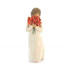 Statuetta Circondato dall'amore 13 cm Willow Tree 26233