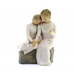 Statuina con mia Nonna 14 cm Willow Tree 26244