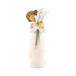 Statuina Bellissimi Auguri 11 cm Willow Tree 27470