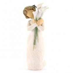 Beautiful Wishes Ornament 11 cm Willow Tree 27470