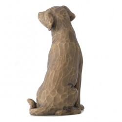 Love my dog 8 cm Willow Tree 27683