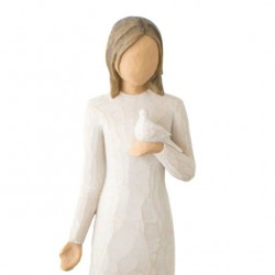 With Sympathy figure 22 cm Willow Tree 27687