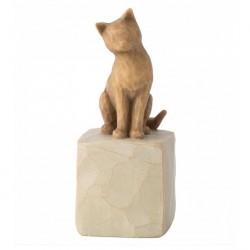 Statue Love my Cat 7 cm Willow Tree 27789