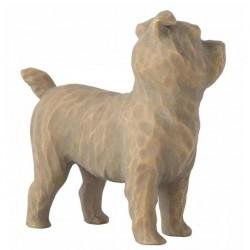 Statue Love My Dog 5 cm Willow Tree 27791