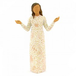 Statuina Benedizioni quotidiane 18 cm Willow Tree 27823