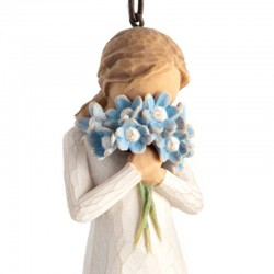 Statue Forget Me Not 11 cm Willow Tree 27911