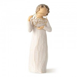 Statuetta Love you 14 cm Willow Tree 27913