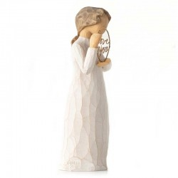 Statue Love you 14 cm Willow Tree 27913