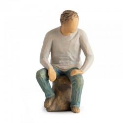 Figurine My Boy 15 cm Willow Tree 28042
