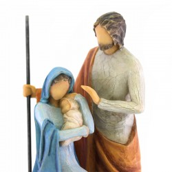 Holy Family figure 18 cm Willow Tree 26290
