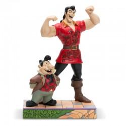 Gaston e Lefou 22 cm Disney Traditions 6005969