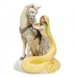 Rapunzel con Maximus 22 cm Disney Traditions 6005958