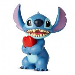 Stitch con cuore 6,4 cm Disney Showcase 6002185