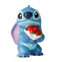 Stitch con fiori 6,4 cm Disney Showcase 6002186
