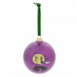 Pallina di Natale Nightmare Before Christmas 10 cm Disney Enchanting A30115