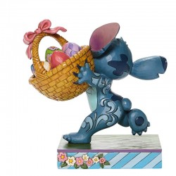 Stitch with Easter basket 14,5 cm Disney Traditions 6008075