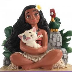 Moana with Pua and Heihei 13,3 cm Disney Traditions 6008078