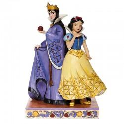 Biancaneve e regina Grimilde 21 cm Disney Traditions 6008067