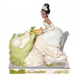 Tiana with white dress 19 cm Disney Traditions 6008065