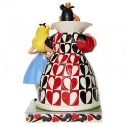 Alice e Regina di cuori 21 cm Disney Traditions 6008069
