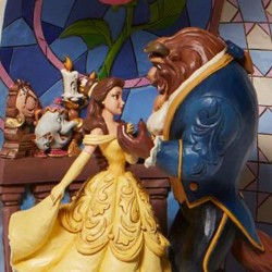Beauty and the Beast Diorama 26 cm Disney Traditions 6008995