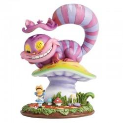 Cheshire Cat on Mushroom 16 cm Disney Showcase 4058896