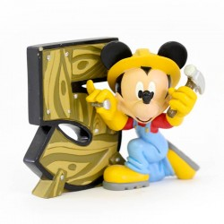 Mickey Mouse Number 5 8 cm Disney Showcase 4017905