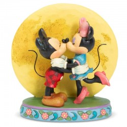 Mickey and Minnie the kiss 16 cm Disney Traditions 6006208
