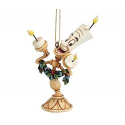 La Bella e la Bestia (Lumiere) 9 cm Disney Traditions A21430