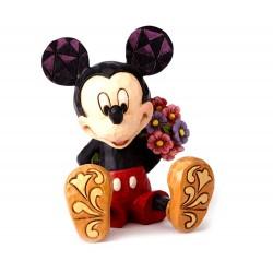 Topolino mini con fiori 7 cm Disney Traditions 4054284