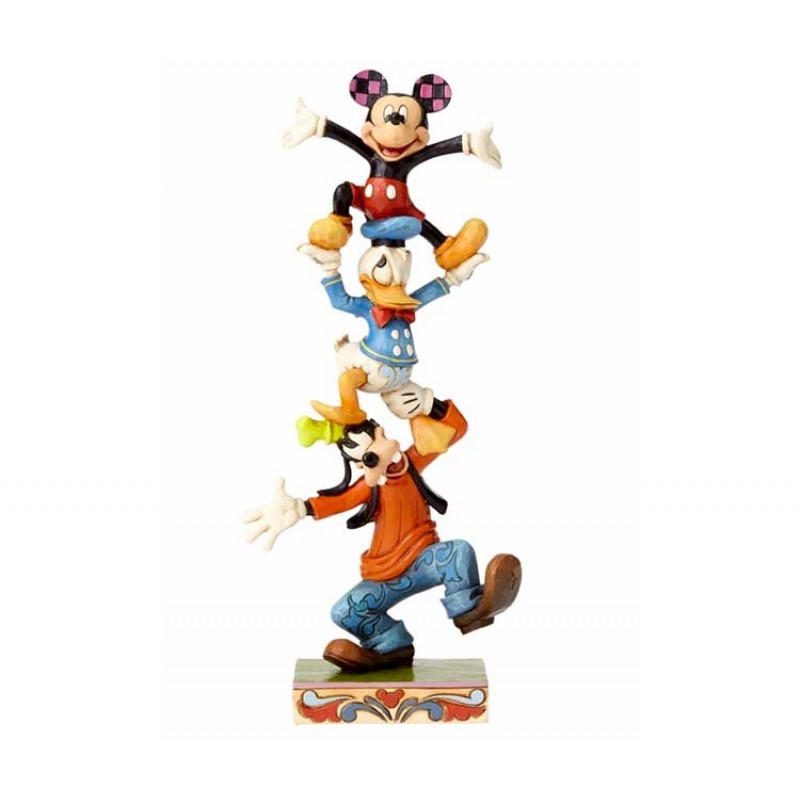 reputable site 8c4d0 0fee3 Goofie, Donald Duck and Mickey Mouse 22 cm Disney Traditions ...